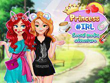play Princesses #Irl Social Media Adventure