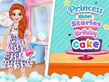play Princess Kitchen Stories: Birthday Cake