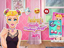 play Audrey'S Beauty Makeup Vlogger Story