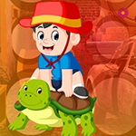 play Turtle And Little Boy Escape