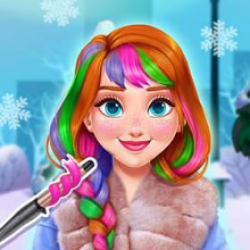 Annie'S Winter Chic Hairstyles - Free Game At Playpink.Com game