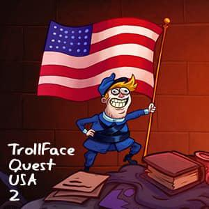 Trollface Quest: Usa 2 game