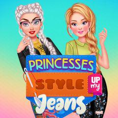 play Princesses Style Up My Jeans