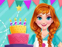 play Princess Kitchen Stories - Birthday Cake