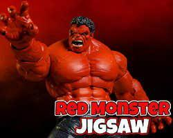 play Red Monster Jigsaw
