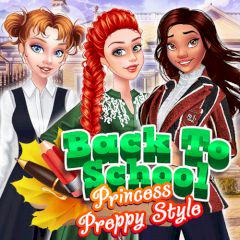 Back To School Princess Preppy Style game