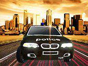 play Police Drift Car