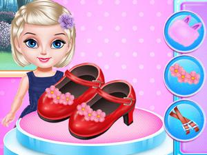 Little Princess Fashion Shoes Design game