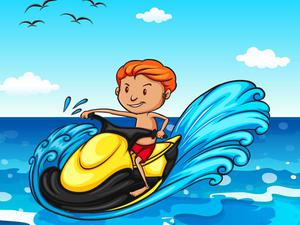 Jet Ski Summer Fun Hidden game
