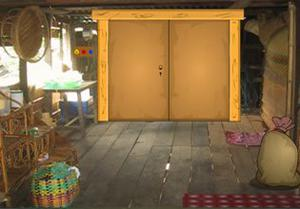 play Colonial Wooden House Escape