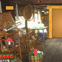 play Gfg Colonial Wooden House Escape
