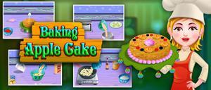 play Baking Apple Cake