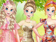 play Princess Spring Model Challenge