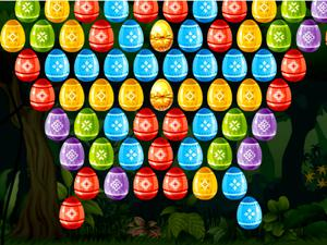 Bubble Shooter Easter game