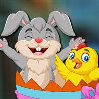 Avm-Rabbit-And-Baby-Chick-Escape game