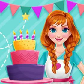 play Princess Kitchen Stories Birthday Cake - Free Game At Playpink.Com