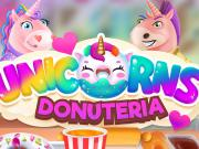 Unicorns Donuteria game