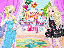 play Eliza Blogger Story