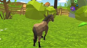 Horse Family Animal Simulator 3D game