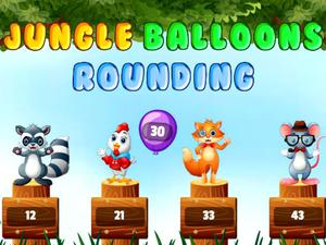 play Jungle Balloons Rounding