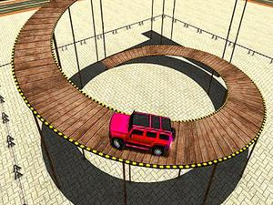 play Impossible Tracks Prado Car Stunt