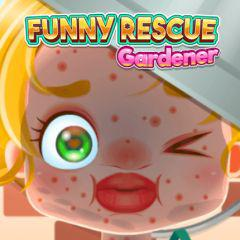 play Funny Rescue Gardener