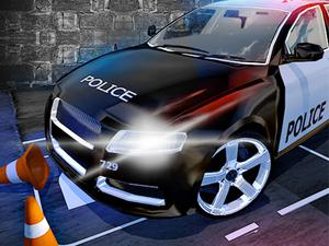 play Police Car Parking Mania Car Driving
