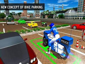 Bike Parking 3D Adventure 2020 Parking game