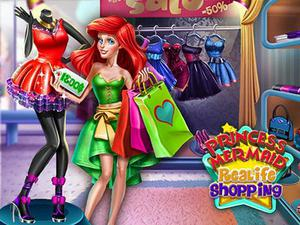 play » Princess Mermaid Realife Shopping
