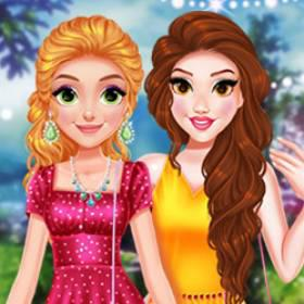 Princess #Influencer Springtime - Free Game At Playpink.Com game
