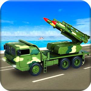 play Us Army Missile Attack Army Truck Driving