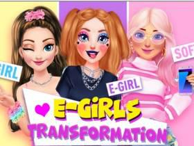 E Girls Transformation - Free Game At Playpink.Com game