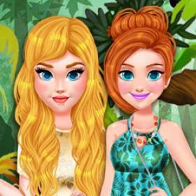 Princess Girls Trip To The Amazon - Free Game At Playpink.Com game