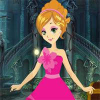 play Games4King-Beautiful-Blonde-Princess-Escape
