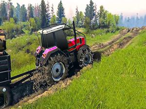 play Real Chain Tractor Towing Train Simulator
