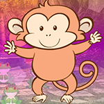 play Overjoyed Monkey Escape
