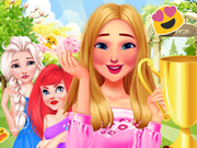 Princesses Garden Contest game