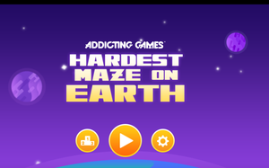 Hardest Maze On Earth game