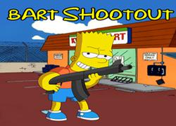 Bart Shootout game