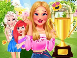» Princesses Garden Contest game