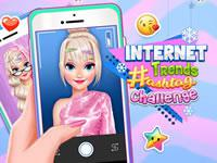 Internet Trends Hashtag Challenge game
