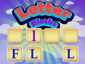 Letter Blocks game