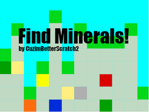 Find Ores! game