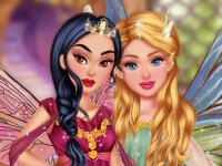 Princesses: Enchanted Fairy Look game