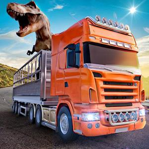 play Animal Zoo Transporter Truck Driving Game 3D