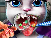 Kitty Tongue Doctor game