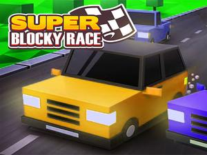 play Super Blocky Race