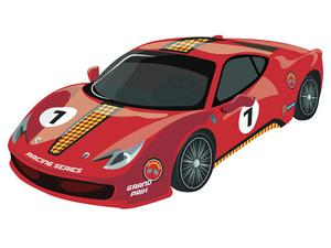 play Sport Cars Coloring