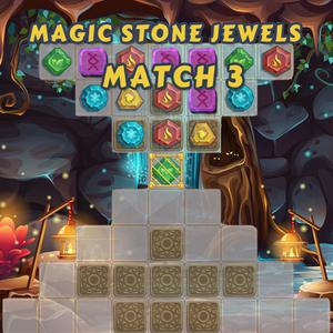 Magic Stone Jewels Match 3 game