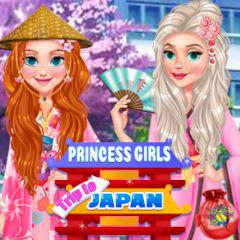 Princess Girls Trip To Japan game